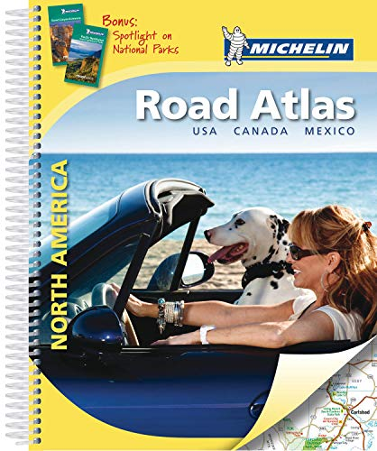 9782067188761: Atlas North America.Road Atlas - Usa, Canada, M�xico (A4 Spirale) (Atlas de carreteras Michelin)