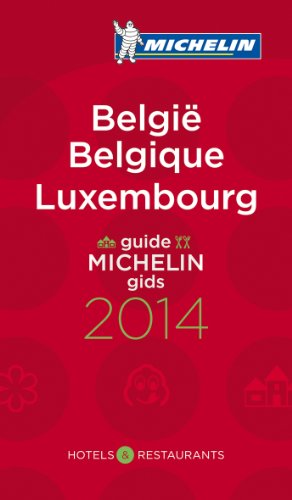 9782067188914: Michelin Guide Belgique Luxembourg 2014 (Michelin Guides)