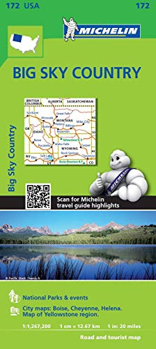 9782067190818: Michelin USA Big Sky Country 172