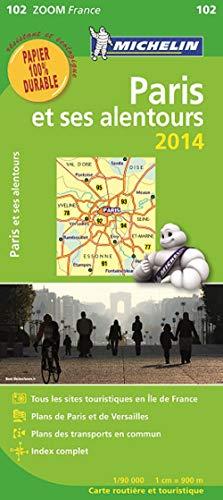 9782067191570: Carte Paris et ses alentours 2014 Michelin