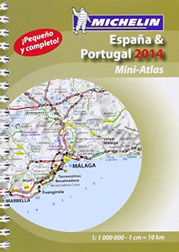 9782067192355: Spain and Portugal 2014 Mini-atlas (Michelin Tourist and Motoring Atlas)