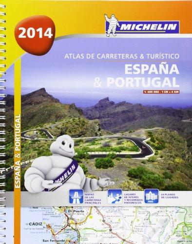 9782067192539: Atlas España. Portugal (A4 ) (Atlas de carreteras Michelin)