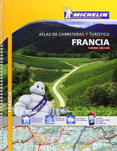 9782067193000: Atlas Francia (A4) (Atlas de carreteras Michelin)