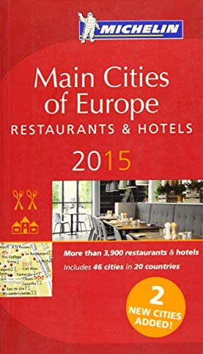 9782067197015: Michelin Red Guide Main Cities of Europe 2015: Restaurants & Hotels