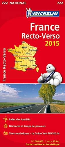 9782067199316: France Recto - Verso 2015 au 1/1 000 000