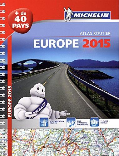 9782067199613: Europe 2015 - Atlas Routier et Touristique (A4- Spirale)