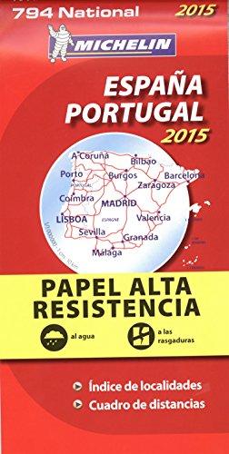 9782067199798: Espana Portugal, papel alta resistencia/Espagne Portugal, indéchirable : 1/1 000 000