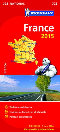 9782067200012: France Map 2015 Booklet