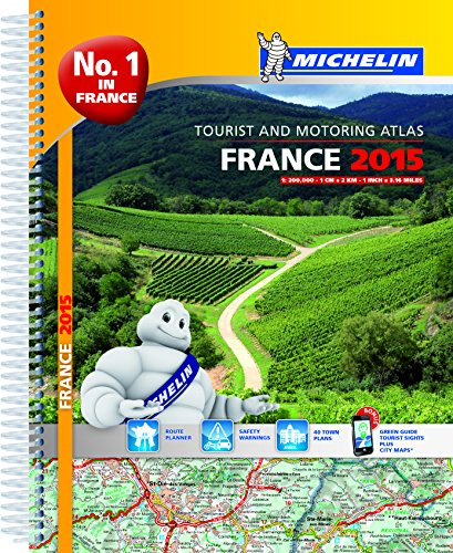9782067200272: 2015 France Road Atlas (Michelin Atlas)