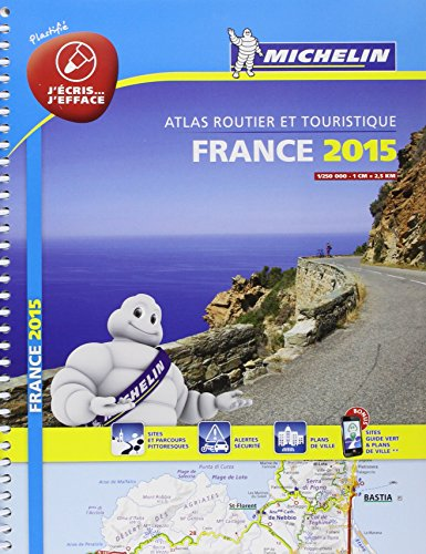 Atlas Routier France 2015 Michelin - 100%: Collectif