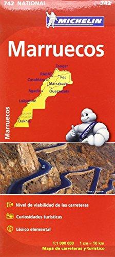 9782067202870: Mapa National Marruecos