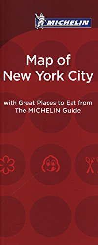 9782067205932: Michelin Map of New York City Great Places to Eat 2016 (Map of Great Places to Eat)
