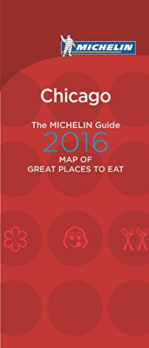 9782067205949: Michelin Map of Chicago Great Places to Eat 2016 (Map of Great Places to Eat)