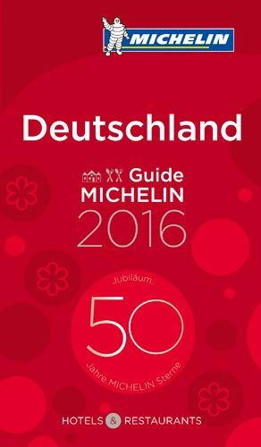 9782067206199: DEUTSCHLAND (60008) GUIDE MICHELIN GIDS - 2016 - HOTEL / REST . (GM Pays)