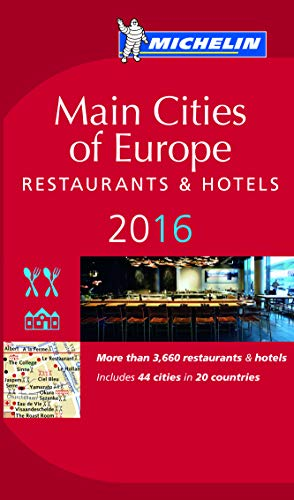 9782067206380: MICHELIN Guide Main Cities of Europe 2016: Restaurants & Hotels (Michelin Red Guide)