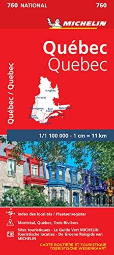 9782067208728: Michelin map Quebec