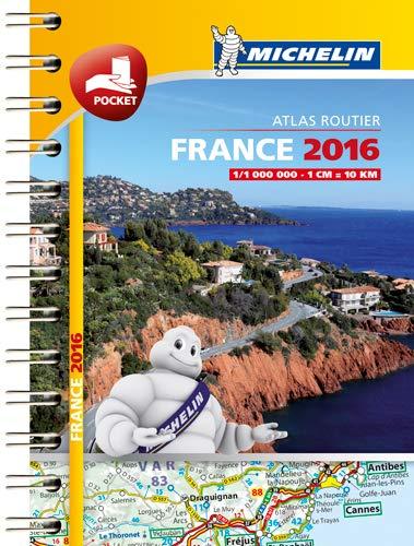 9782067209466: Mini Atlas France 2016 Michelin (Michelin Tourist and Motoring Atlas)