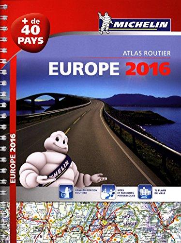 9782067209473: Europe 2016 : Atlas routier et touristique - [ + de 40 pays ] Road atlas (French Edition)
