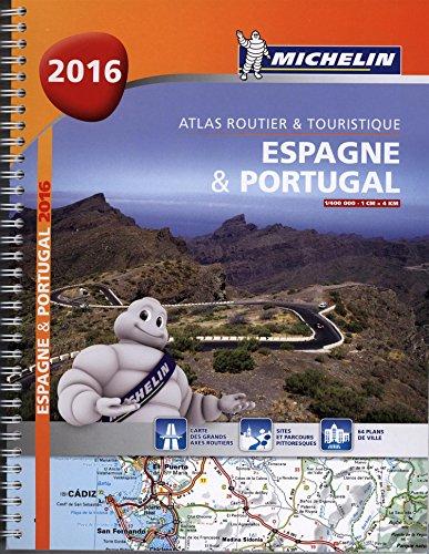 9782067209480: Espagne & Portugal : Atlas routier et touristique 1/400 000