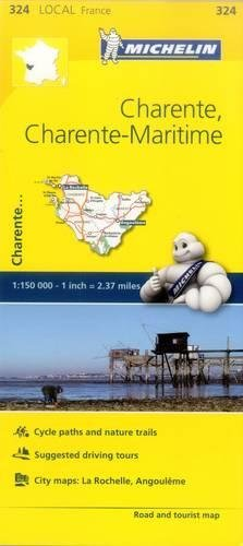 Charente, Charente-Maritime, France Local Map 324: Vv.Aa.