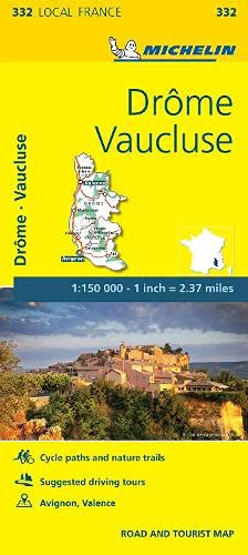 Drome, Vaucluse, France Local Map 332