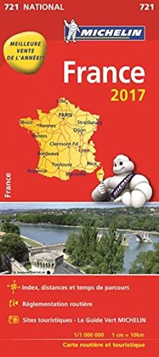 9782067211087: Map France 2016 Michelin