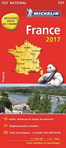 9782067211087: Map France 2016 Michelin