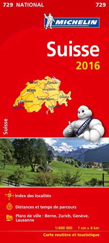 9782067211223: Michelin map Switzerland