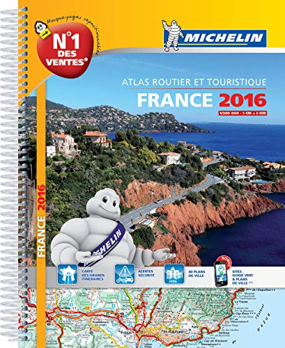 9782067211643: Michelin Road Atlas France 2016 (French Edition)
