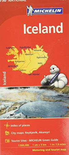 9782067211872: Mapa Iceland (Mapa Nacional ISLANDIA MICHELIN) (Mapas National Michelin)