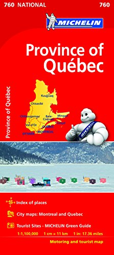 Quebec National Maps 760: Michelin