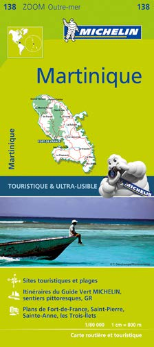 Michelin Martinique Map 138 (Michelin Map): Michelin
