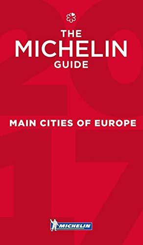 MICHELIN Main Cities of Europe 2017: Hotels & Restaurants (MICHELIN Hotelführer)