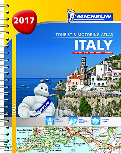 Italy 2017 (Michelin Tourist and Motoring Atlases)