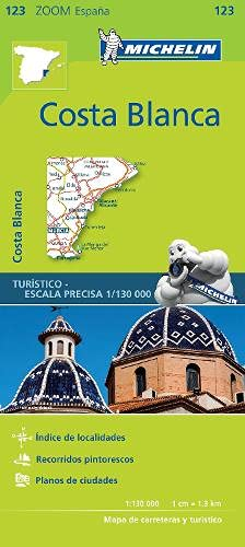 9782067217898: Mapa Zoom Costa Blanca (Mapas Zoom Michelin)