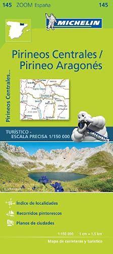 9782067218123: Michelin Pirineos Centrales, Pirineo Aragonés