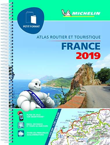 9782067235946: Atlas France Petit Format Michelin 2019