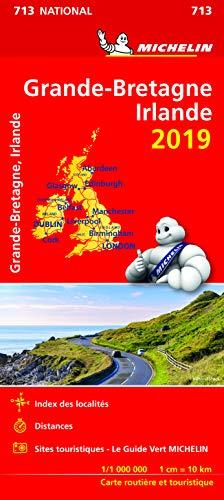 9782067236387: Carte Grande-Bretagne, Irlande Michelin 2019