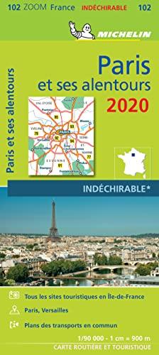 9782067244313: Carte Michein Paris et ses alentours 2020