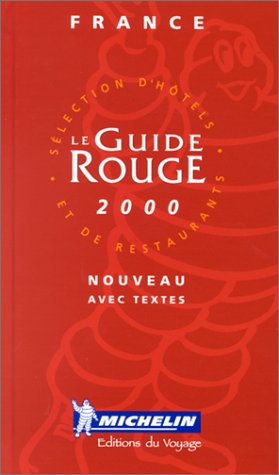 Michelin Guide France 2000: Collectif