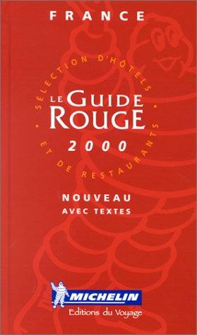 9782069640915: Michelin Guide France 2000