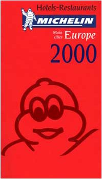 Michelin THE RED GUIDE Europe (Main Cities) 2000: Michelin Staff