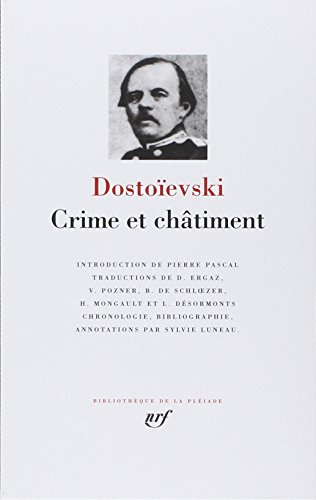 9782070101740: Crime Et Chatiment [Bibliotheque de la Pleiade] (French Edition)