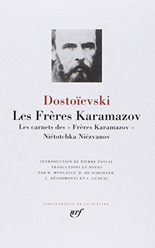 9782070101757: Dostoievski : Les Freres Karamazov [Bibliotheque de la Pleiade] (French Edition)