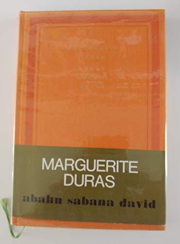 9782070101856: Abahn Sabana David