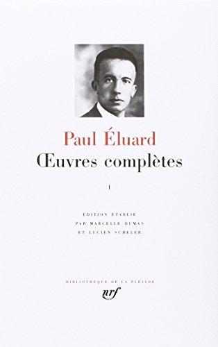 9782070101894: Œuvres complètes (Tome 1-1913-1945) (Bibliothèque de la Pléiade)