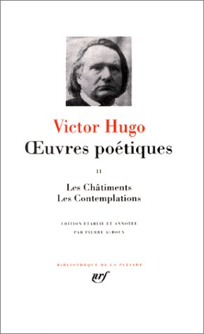 9782070102686: Hugo : Oeuvres poétiques, tome 2