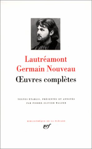 Lautréamont: Oeuvres complètes (2070103048) by Lautréamont
