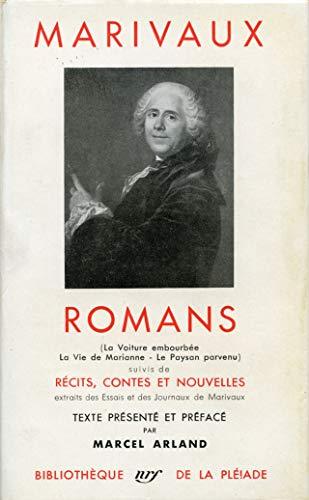 9782070103416: Marivaux : Romans - Récits, contes et nouvelles