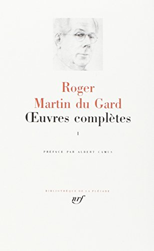 Oeuvres compl�tes, tome 1 (French Edition) Bibliotheque de la Pleiade: Roger ...
